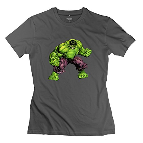Woman Hulk Customized Retro DeepHeather T-Shirt By Mjensen