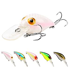 SeaKnight Fishing Lures Crankbait Lifelike 3D Eyes Artificial Hard Bait Floating Wobblers With High-Strength Hook for Sea Carp Fishing