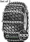 2 Link Spacing TIRE CHAINS ( 23x8.5x12 ) for HUSQVARNA / AYP / MTD / ARNOLD / MURRAY TRACTOR SNOW CHAIN