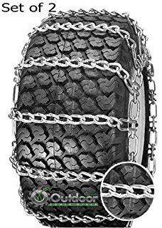2 Link Spacing TIRE CHAINS ( 23x8.5x12 ) for HUSQVARNA / AYP / MTD / ARNOLD / MURRAY TRACTOR SNOW CHAIN by Snow Chain