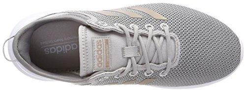 Adidas Damen Cloudfoam Qtflex Gymnastikschuhe Grau (grigio Due F17 / Grigio Vapore Met.f16 / Grigio Tre F17)