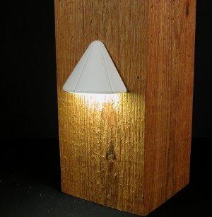 Vega 12V Deck Post Surface Light, 1W LED, White