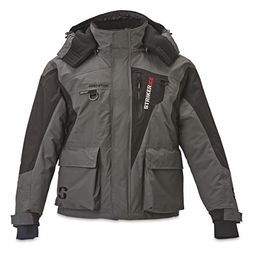 Striker Ice Predator Jacket, Gray/Black, X-Large