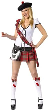 FunWorld Women's  Scottie-Female, White, S/M 2-8 Costume