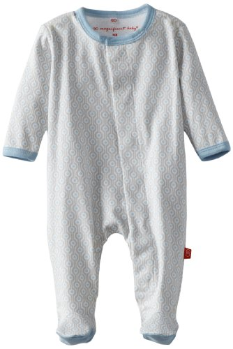 Magnificent Baby Baby Boys' Footie, Mod Dots 3 ()