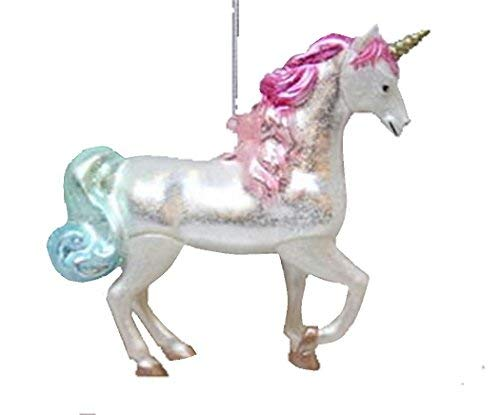 (December Diamonds Unicorn Christmas Tree Ornament Holiday)