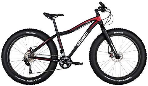 Framed Wolftrax Alloy 2.0 w/Shimano Deore (2 x 10) Fat Bike Sz 17in