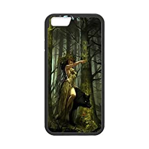 Case Cover For Apple Iphone 6 Plus 5.5 Inch Wolf Phone Back Case Use Your Own Photo Art Print Design Hard Shell Protection FG073359