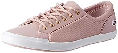 Lacoste Women's Lancelle Sneaker 119 1 Women's Fashion Shoes, NAT/Off WHT, 6 US