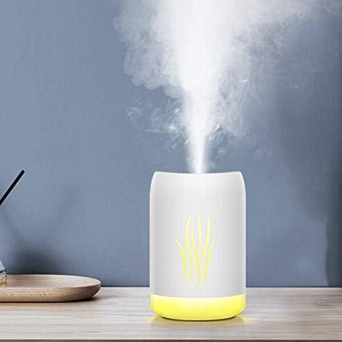 Renfengchui Humidificador De Aire Ultrasónico Luz Suave Romántica USB Aceite Esencial Difusor De Coche Purificador De Fragancia Fabricante De Niebla Federación Rusa Blanco: Amazon.es: Hogar