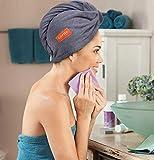 Microfiber Hair Towel Wrap 3 Pack Quick Drying
