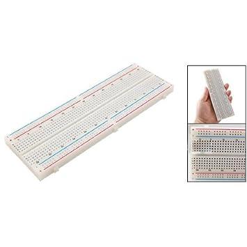 COLEMETER - Protoboard 830 Contactos Breadboard Placa Prototipos Sin Soldadura: Amazon.es: Electrónica
