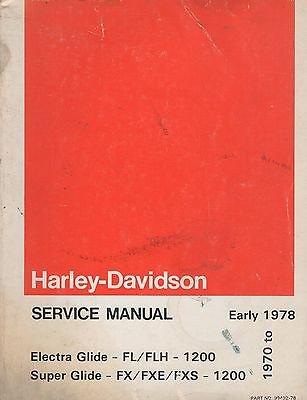 1976 Harley Davidson - 2