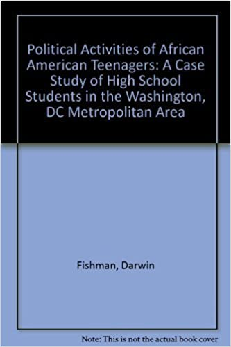 Political Activities of African American Teenagers: A Case