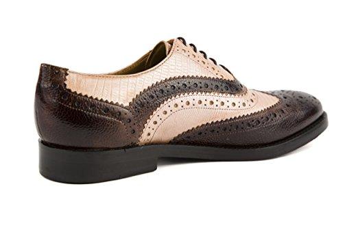 Melvin & Hamilton - Zapatos de cordones de Piel Lisa para mujer marrón marrón 37