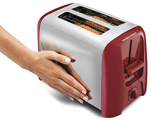Hamilton Beach Cool Wall 2 Slice Toaster Red 22623 Import It All
