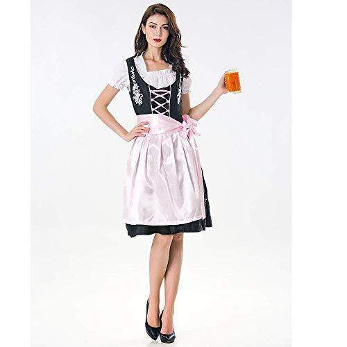 Da Drindl Tavern A Per Stlie Oktoberfest Line Swing Donna Moda Tradizionale Elegante Party Dress L Cameriera Sera Gown Abito Unique Abiti Vintage Ball Colour6 Midi CxrodBe