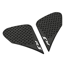 Gas Tank Pad Traction Side Fuel Knee Grips Decals For Yamaha YZF R3 2013-2016 14 15