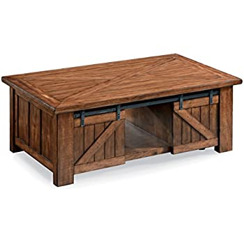 magnussen t3269 50 harper farm t3269 harper rustic lift top coffee table in warm. Black Bedroom Furniture Sets. Home Design Ideas