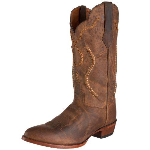 Dan Post Men's Albany Western Boot,Tan,9D (Shoe Mens Albany)