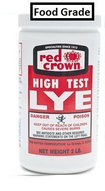 RED CROWN High Test Lye for Making Award-Winning Handcrafted Soaps 2 lb. (1, Food Grade)