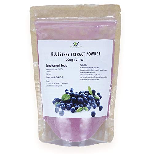 Nativo Harvest Blueberry Extract Organic Powder (200g / 7.1oz)