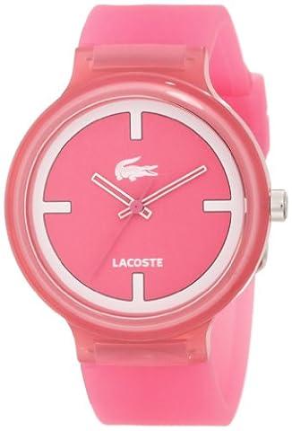Lacoste Goa Light Pink Unisex Watch 2020025 - Goa Light