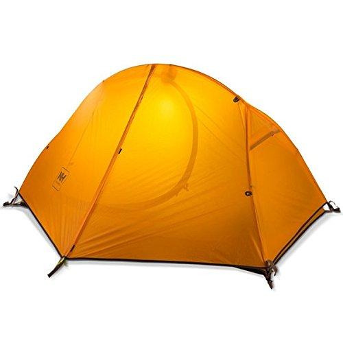 Naturehike Einzel Personen-Zelt Aluminium Pole Zelt wasserdicht fôr Outdoor Sports Camping und Wandern