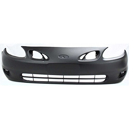 Front BUMPER COVER Primed for 1998-2002 Ford Ford Escort (Cover Escort Ford Front Bumper)