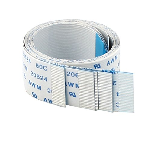 24-pin Forward Direction FFC FPC Ribbon Flat Cable 300mm x 0.5mm 5pcs