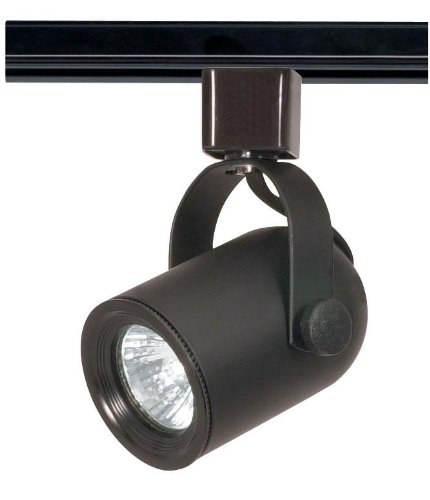 Nuvo Lighting TH316 One Light Track Head, Black