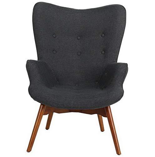 Remarkable Amazon Com Hebel Anders Mid Century Accent Chair Model Uwap Interior Chair Design Uwaporg