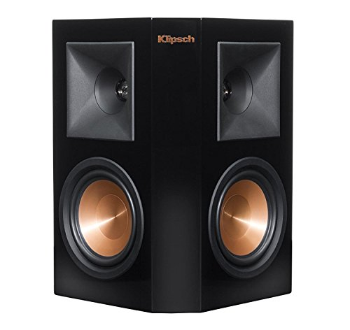 Klipsch RP-250S Piano Black Surround Speaker - Each (Certified Refurbished) by Klipsch