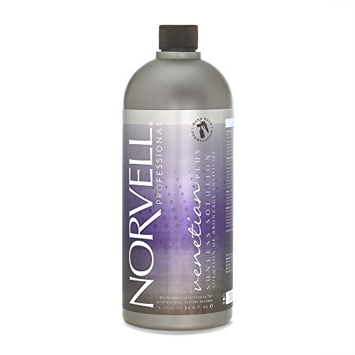Tanning Pack - Norvell Premium Sunless Tanning Solution - Venetian Plus, 1 Liter