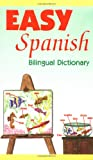 Easy Spanish Bilingual Dictionary, Qualls, Regina M. and Sanchez, L., 0844205508