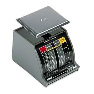 Pelouze X1 1-lb.Capacity Standard Mechanical Mailroom Scale, 1-7/8 x 1-7/8 Platform
