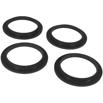 Pack of 2 Prothane 19-1706-BL Black Universal Coil Spring Isolator