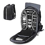 Best Camera Laptop Backpacks - Abonnyc Camera Backpack Fit 2 Pro-Sized DSLR/SLR Camera Review