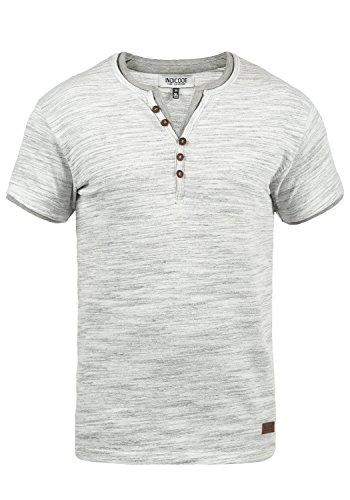 Manga 914 Cuello Grey Para Hombre Aldred Mix Rayas De Con Grandad Indicode Camiseta Básica Corta qSHgpwTZ