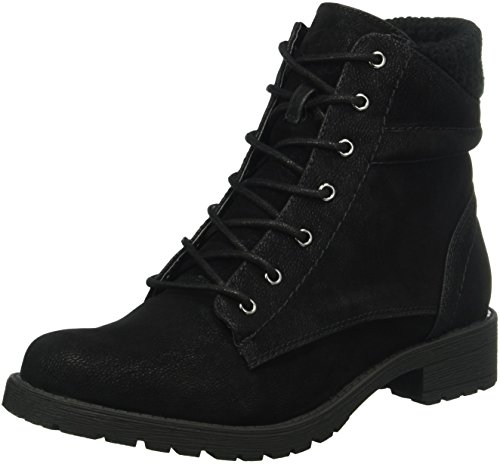 black01 Mujer Botines Pair Shoes Negro 38 EU para AnnaE3 of Another wq6Y8xIdUY