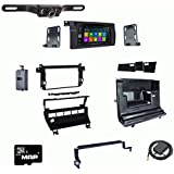 Otto Navi DVD GPS Navigation Multimedia Radio and Dash Kit for BMW 3-Series 1999-2006 with Back up camera and extra