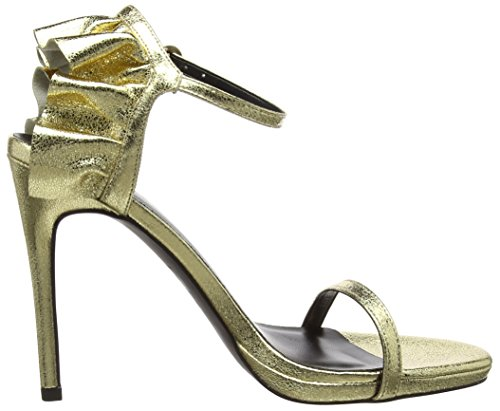 Donna New Smooth Look Oro Spuntate gold 93 Scarpe wBpfIBAq