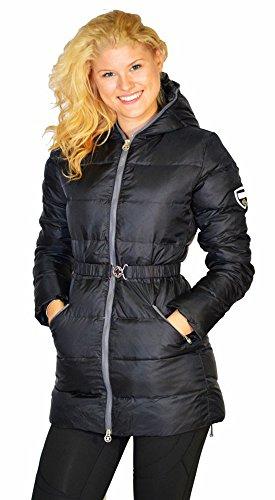 Noir Veste Femme Pour D'hiver Champion v4wIzqw