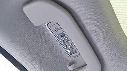 Aleaci/ón de aluminio interior Roof C/úpula Luz de lectura luz trasera cover Trim 2pcs for Benz Clase C W205 2014-2015