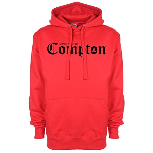 Minamo Of Capuche Straight À Compton Out Sweat Rouge qqxBwR8rn