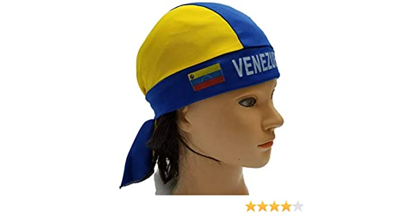 NEW VENEZUELA BANDANA FLAG COUNTRY PRIDE HEAD SCARF DURAG HAIR STYLE GIFT