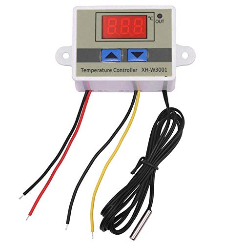 Blower Controlled Thermostatically - JULUJ 12V/120W 10A Digital Temperature Controller Switch Thermostat+NTC Sensor