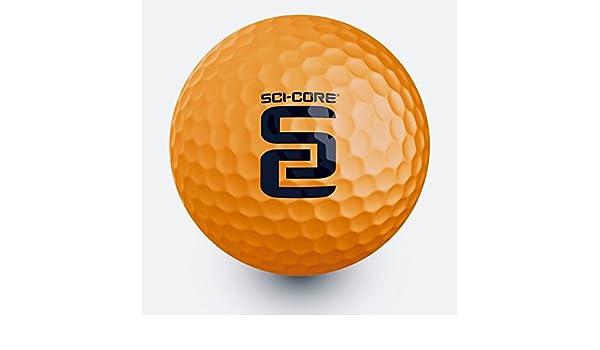 sci-core real-feel Indoor-Outdoor Golf práctica pelota 12 unidades: Amazon.es: Deportes y aire libre