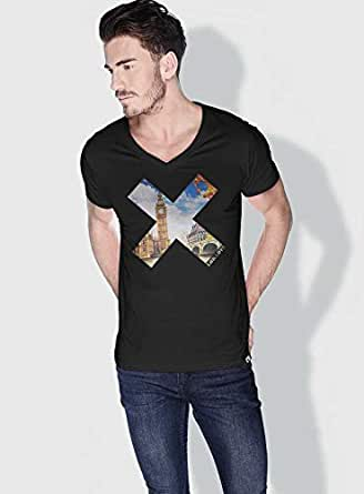 Creo London X City Love T-Shirts For Men - S, Black