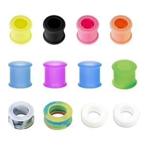 Gotwo unisex túnel silicona USTN Mix colour 22 mm
